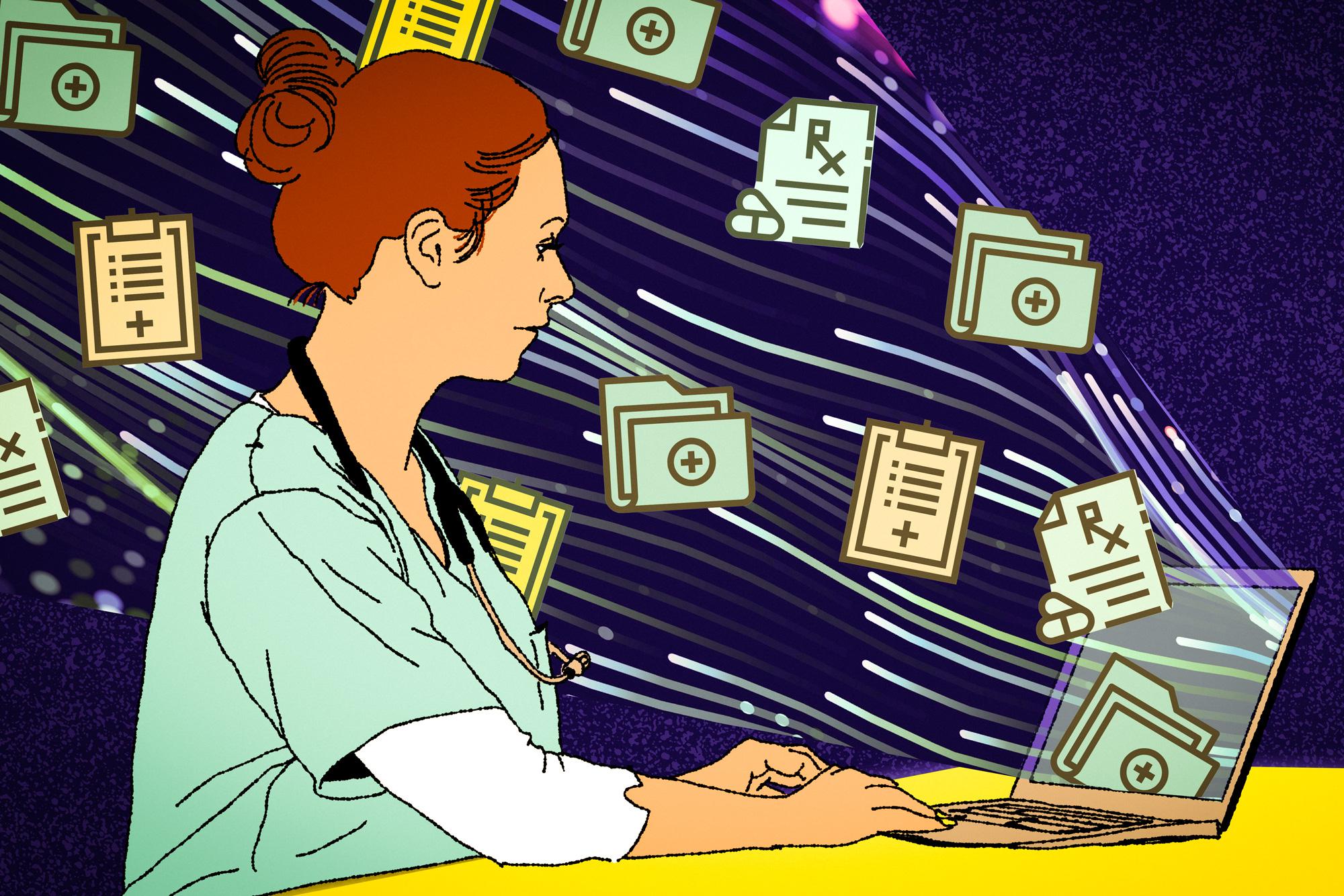 Toward a smarter electronic health record